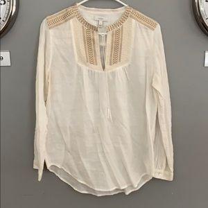 J Crew peasant blouse, 6